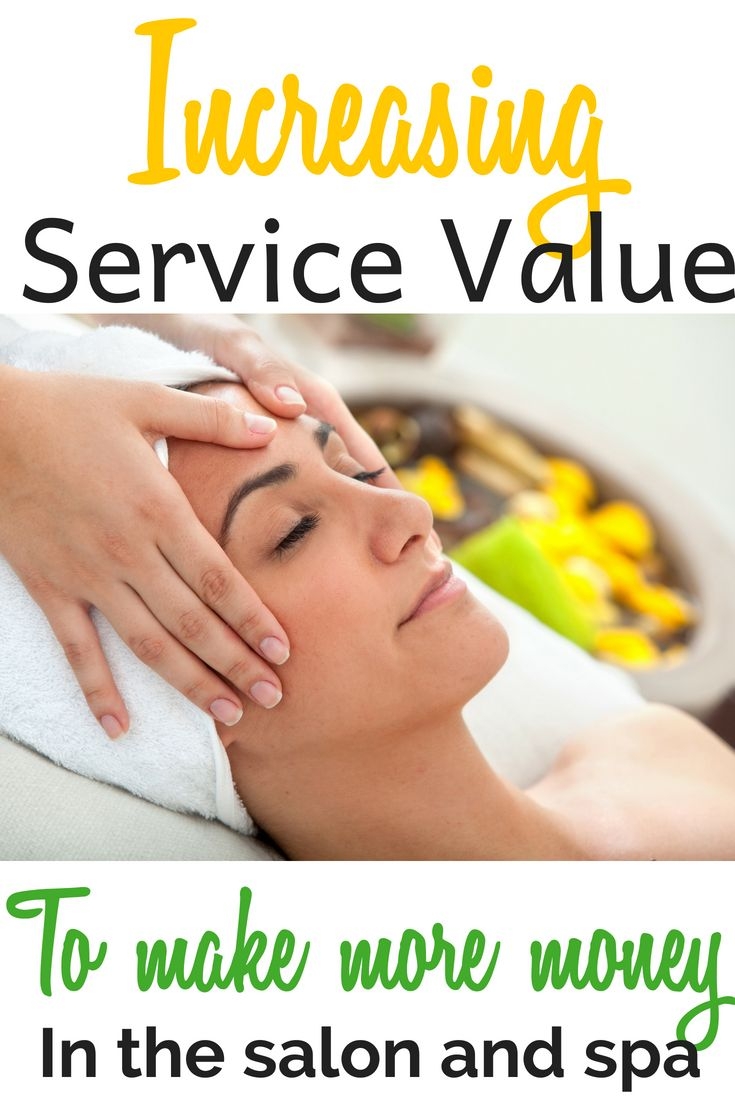 how to make more money at my spa