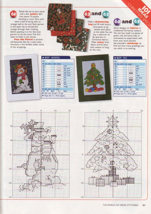Gallery.ru / Фото #22 - The world of cross stitching 001 рождество 1997 - WhiteAngel