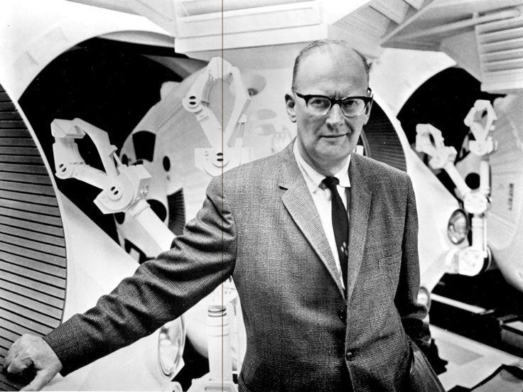 Arthur Clark: Foi um grande engenheiro da NASA e um escritor fantástico de Sci-Fi. Bom...eu acho perfeito.