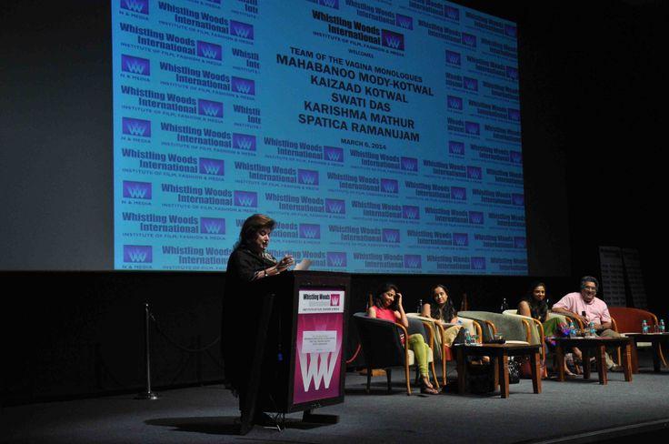 Mahabanoo Mody – Kotwal shares the introduction piece of #VaginaMonologue.