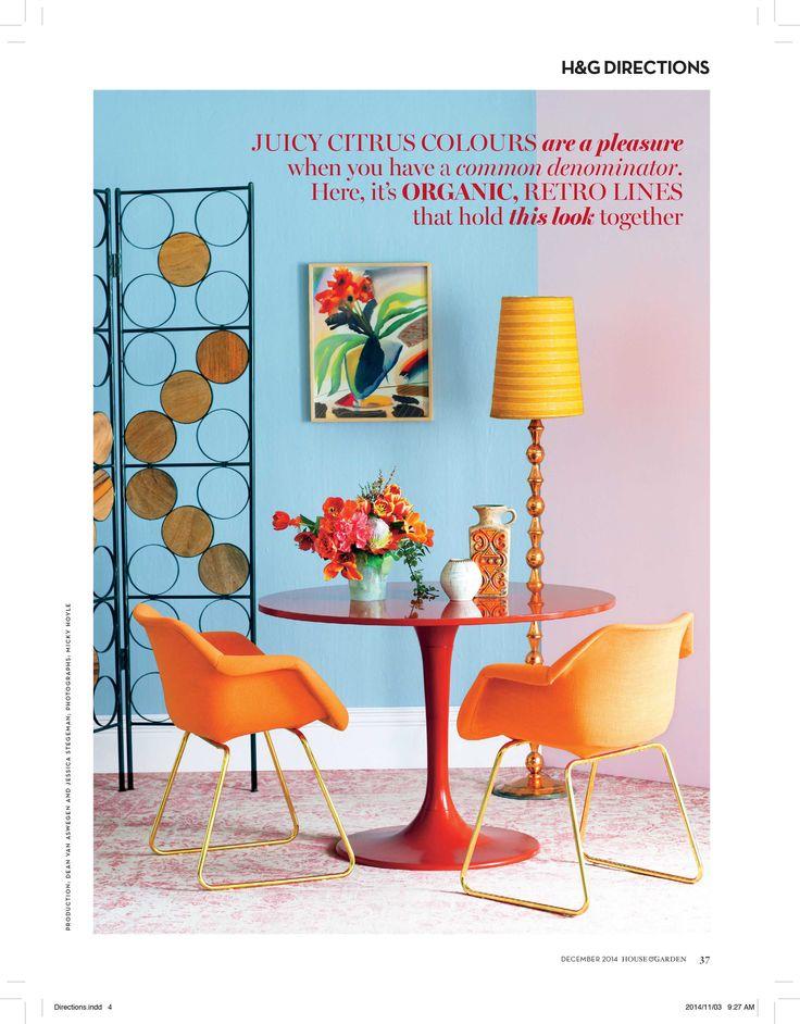 #Conde Nast HOUSE & GARDEN magazine November 2014