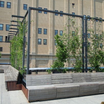 16 best images about fencing ideas on pinterest welded for Contemporary garden trellis designs
