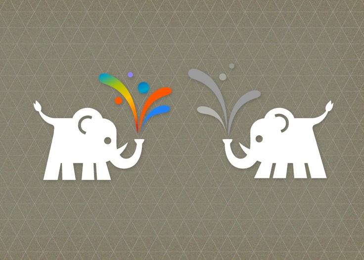 Elefanten Trabanten