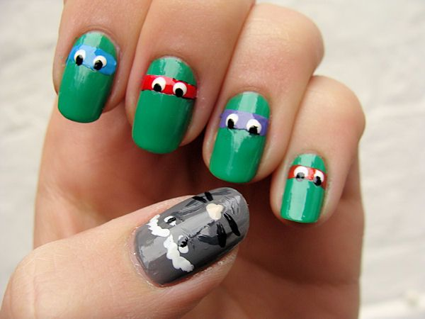 42e90f964979a04c805c603e083041bb teenage ninja turtles ninja turtle nails 36 best ungles images on pinterest make up, hairstyles and fashion,U%C3%B1as Memes