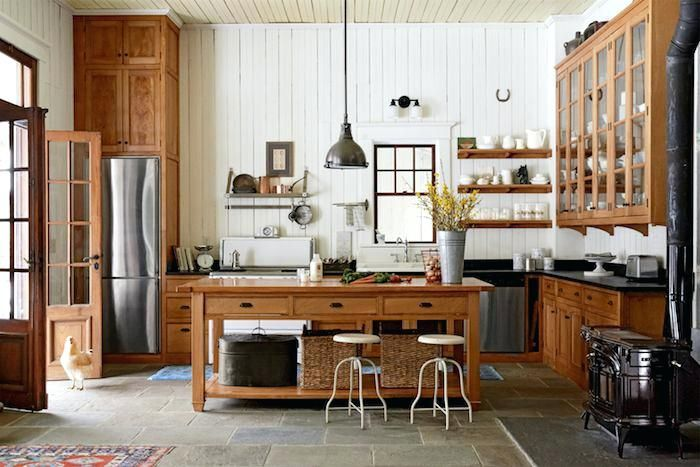 Cuisine Style Campagne Chic meuble cuisine style campagne ...