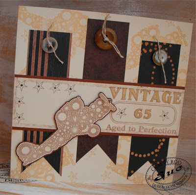 December 2015 Monthly Make from Crafty Roo Designs
