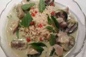 User uploaded image for Thai Green Curry with Chicken & Eggplant, 'Gaeng Khiao Wan Gai'