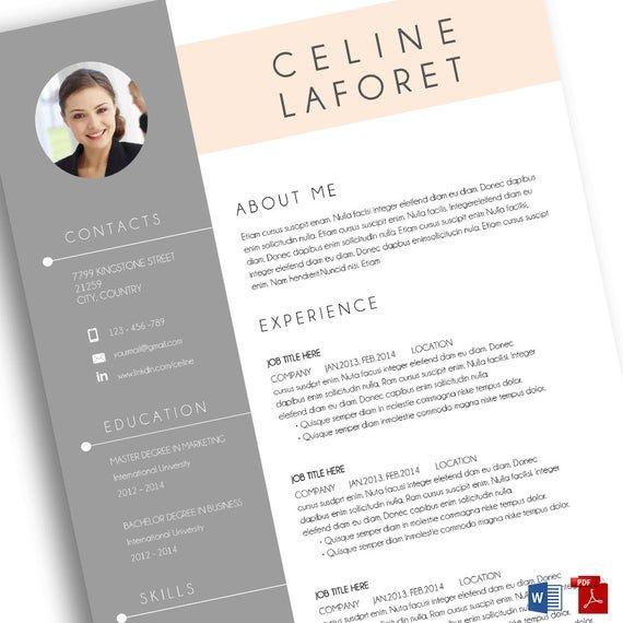 Free resume template microsoft word 7 free resume templates.