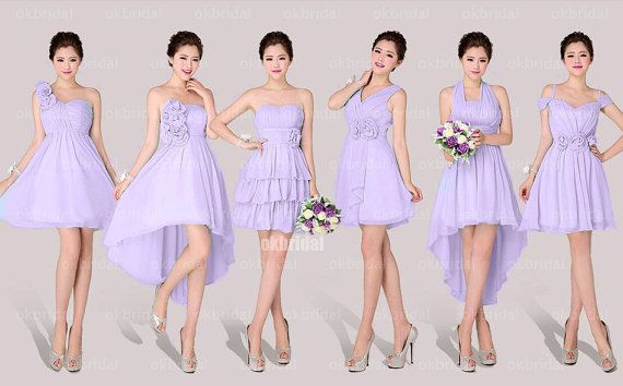 mismatch bridesmaid dresses short bridesmaid dresses by okbridal, $109.99 choose from many color options