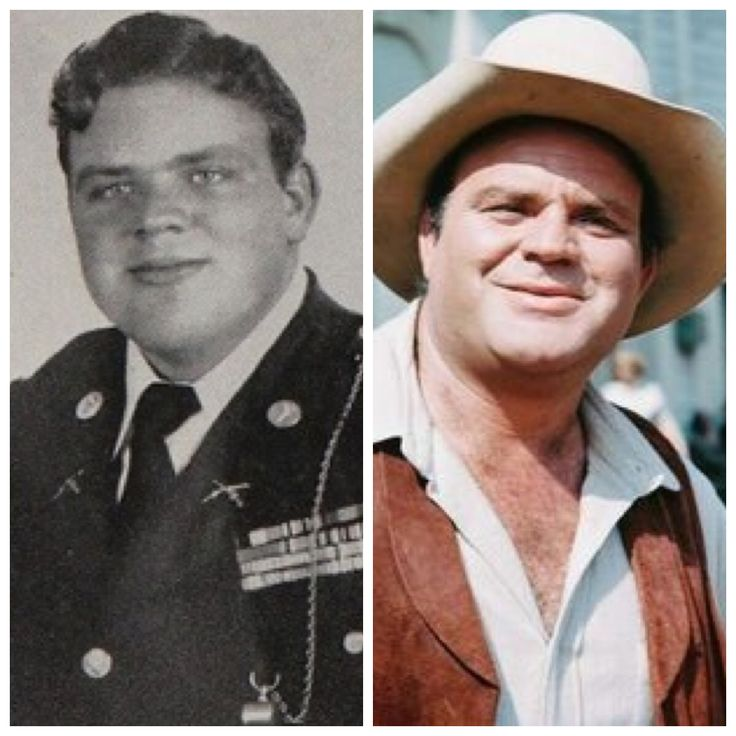 Dan Blocker (December 10, 1928 – May 13, 1972) was drafted into the United States Army during the Korean War.  Here he is shown in his school ROTC uniform,  He was class Vice President....