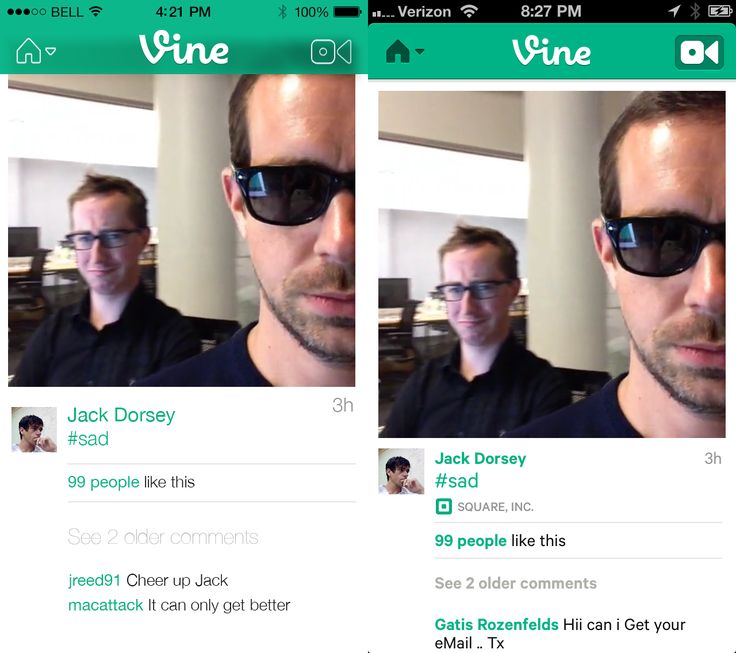 Vine App iOS 7 Redesign Done by me Also if anyone has a Dribbble invite.. http://dribbble.com/jreed91