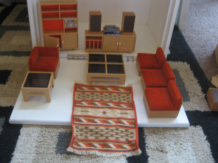 Ordinary Vintage Dollhouse Furniture For Sale Part - 14: Vintage Tomy Dollhouse Furniture. $49.99, Via Etsy.