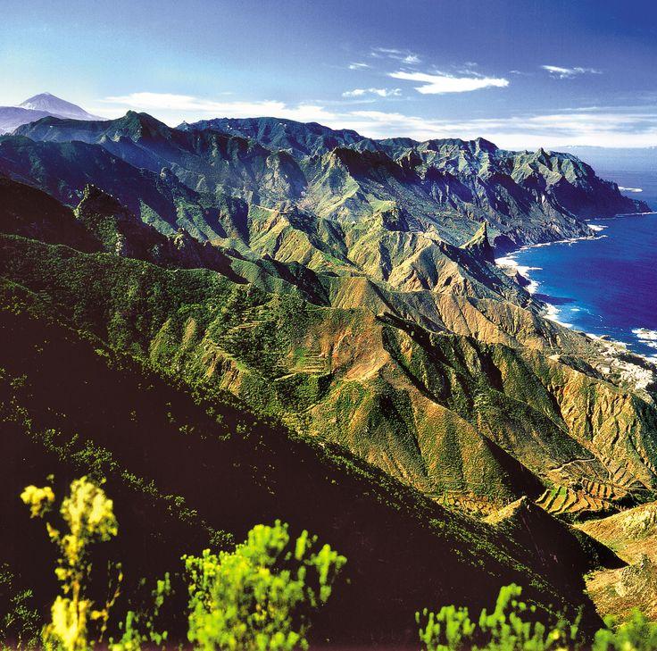 Montañas de Anaga, Tenerife, Islas Canarias, Spain