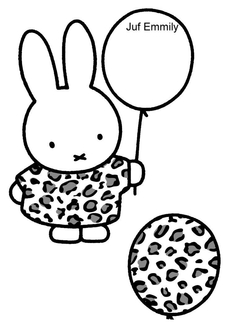 Thema Ballen en ballonnen Geef Nijntje de juiste ballon! Juf Emmily