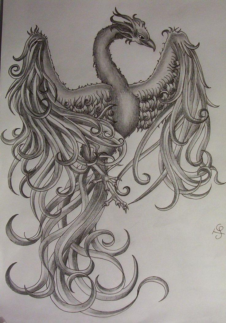 phoenix tattoo | Phoenix Tattoo Design By Tattoosuzette On Deviantart Design 900x1284 ...