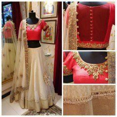 New designer lehenga choli for bridal on zipker.com