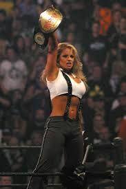 Trish Stratus WWE Woman's Championship