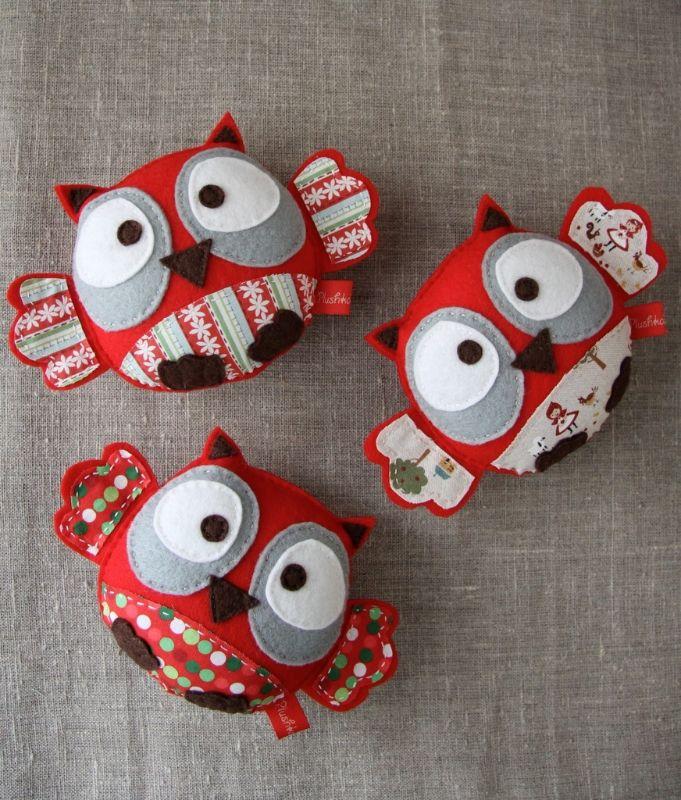 felt owls                                                       …