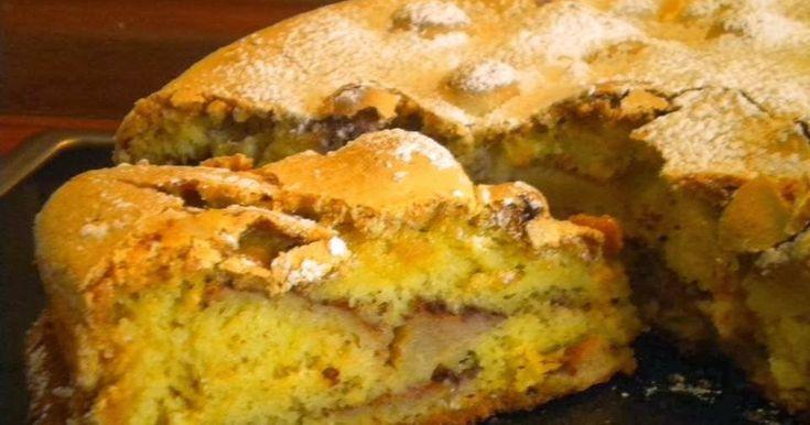 Dzisiejszy przepis to przepis na bardzo łatwy i szybki jabłecznik.  Jego przygotowanie trwa tyle, ile nagrzanie się piekarnika do 170 stopni...