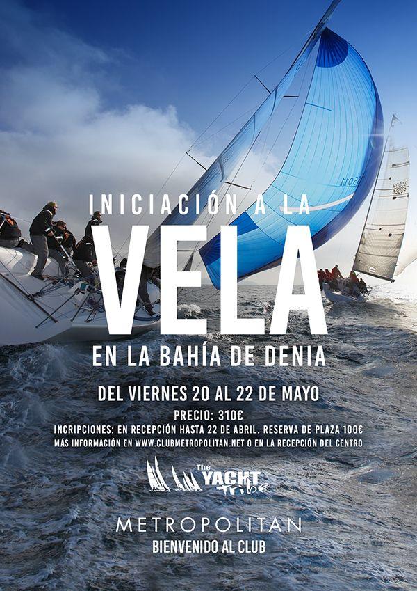 Curso de aproximación a la Vela en la Bahía de Denia. ¿Te apuntas en Metropolitan Abascal?