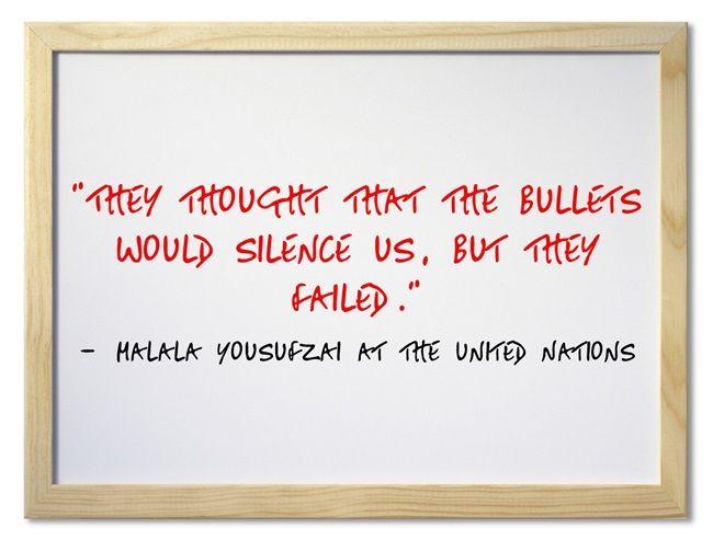 Video & Transcript Of Malala Yousufzai's United Nations Speech Today