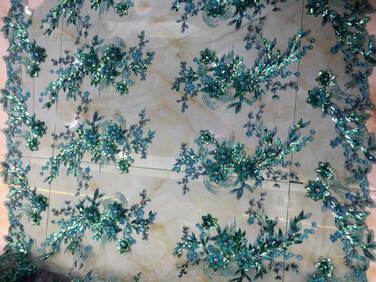 Ярко розовый / champgane / золотыми блестками акрилового камня 3D цветами ручной работы в интернете , свадебное платье / вечер показать / этап платье кружевной тканикупить в магазине Hong Kong Sino Garment Accessories Co., LtdнаAliExpress