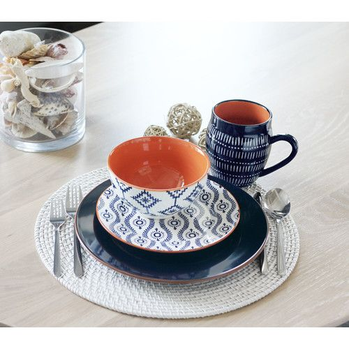 Found it at Wayfair - Tangiers 16 Piece Dinnerware Set