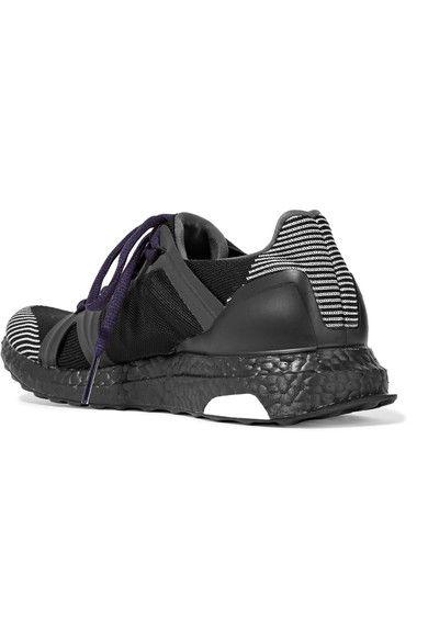 Adidas by Stella McCartney - Ultra Boost Stretch-knit Sneakers - Black