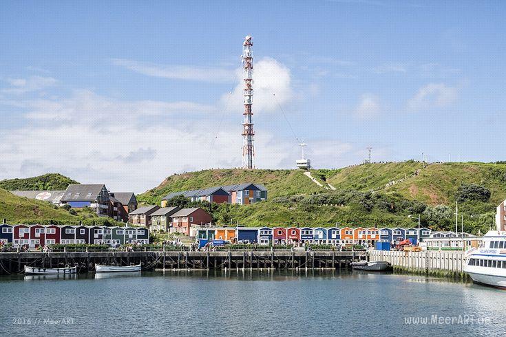 Impressionen von der Hochseeinsel Helgoland (Deät Lun), einer Nordseeinsel in…