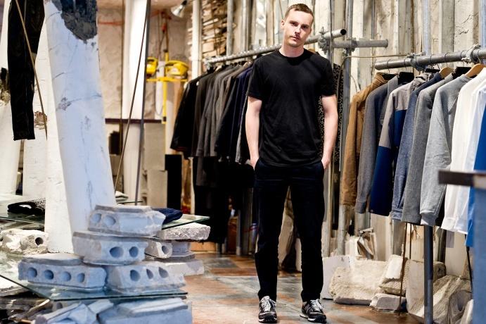 Patrick Ervell pop-up shop