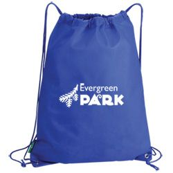 Value Drawstring Bag. Let your message get carried about! A compact, sturdy and great value drawstring bag!   Its large print area makes it ideal to support any marketing campaign.   Made from non-woven polypropylene (a recyclable material) with an eco-friendly logo tab on its side.