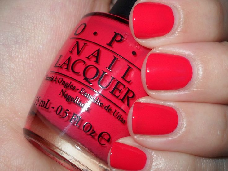 Polished Claws Up!: OPI: Cajun Shrimp