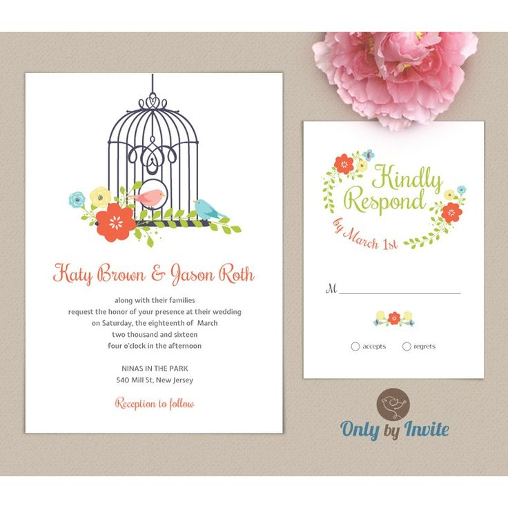 22 best wedding invitation and rsvp card pack images on pinterest