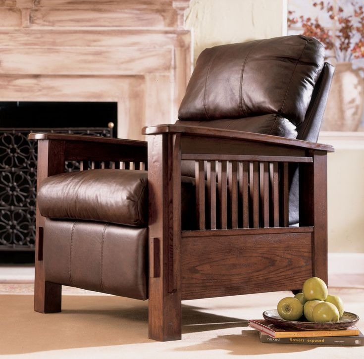 Ashley mission style recliner ashley furniture mission
