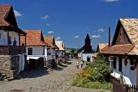 the old village of Hollókő in Northern Hungary, part of the UNESCO World Heritage list www.hungary-special.com https://www.facebook.com/HungarySpecial?ref=hl