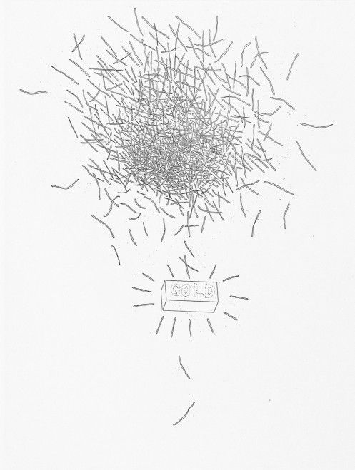 David Hockney - Gold