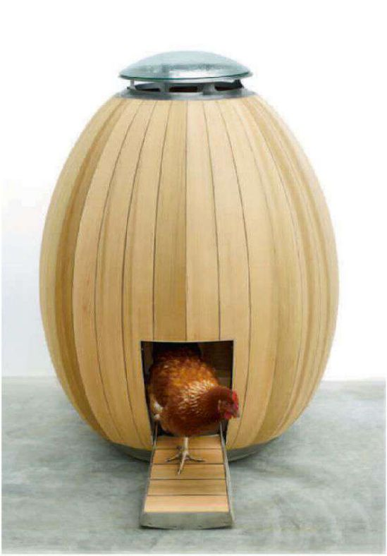 Chicken coop by Nogg. Architectural Record, July 2013