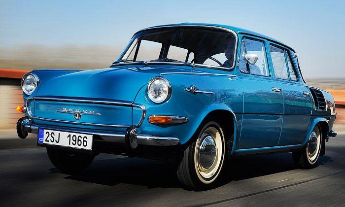 Legendární vůz Škoda 1000 MB slaví padesátiny