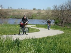 Lamoni has a 6-mile, paved recreation trail, perfect for biking and hiking!