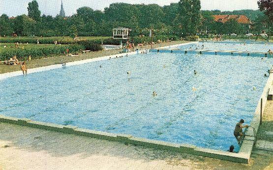 Badhuislaan Voorburg (jaartal: 1970 tot 1980) - Foto's SERC