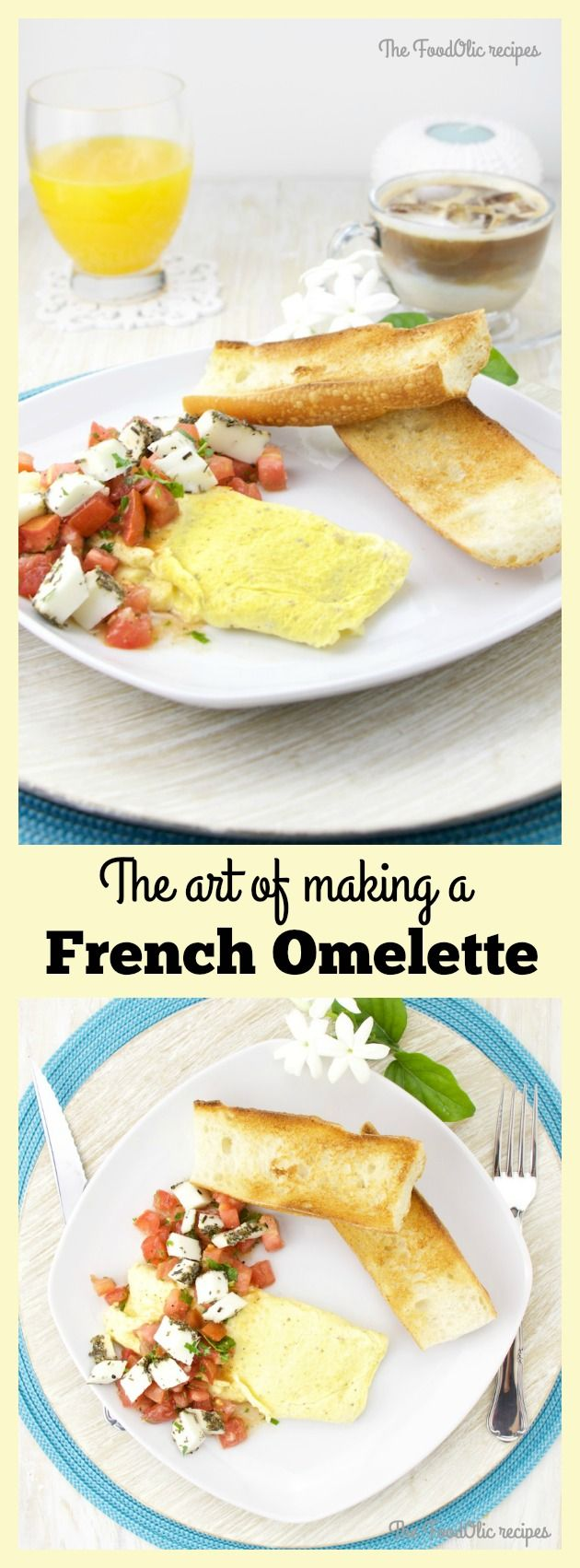 The technique to achieve a smooth omelette. #recipe #eggs #omelette #foodie #breakfast