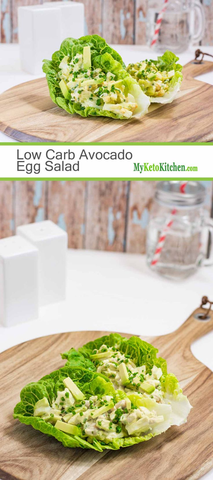 Keto Egg Salad Wraps with Avocado - Healthy Fats & Potassium | Recipe | My Keto Kitchen - Lunch ...