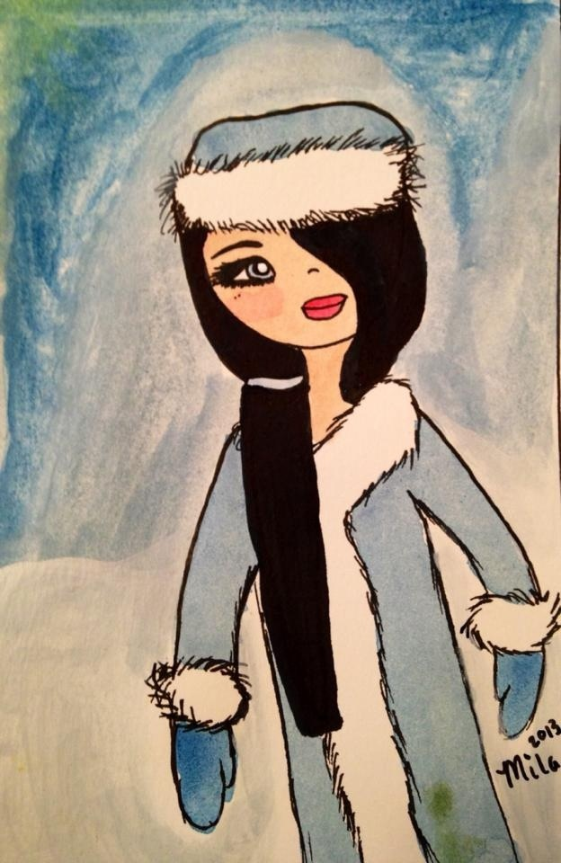 Painting by Mila 12 years old