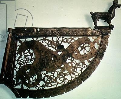 Credit: Weathervane, from Sweden (gilt bronze), Viking, (11th century) / Viking Ship Museum, Oslo, Norway / The Bridgeman Art Library