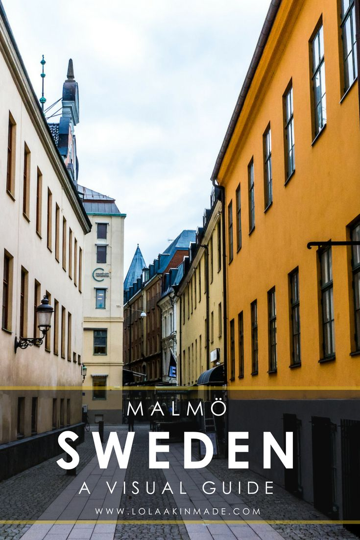 A visual guide to exploring Malmö, a city in southern Sweden located just 30 minutes from Denmark and known for its incredible cuisine. One of the best things to do here is definitely to dapple in the food scene by wandering its markets and sampling its many restaurants while also enjoying its culture, art and architecture. Travel in Sweden. | Geotraveler's Niche Travel Blog#Sweden