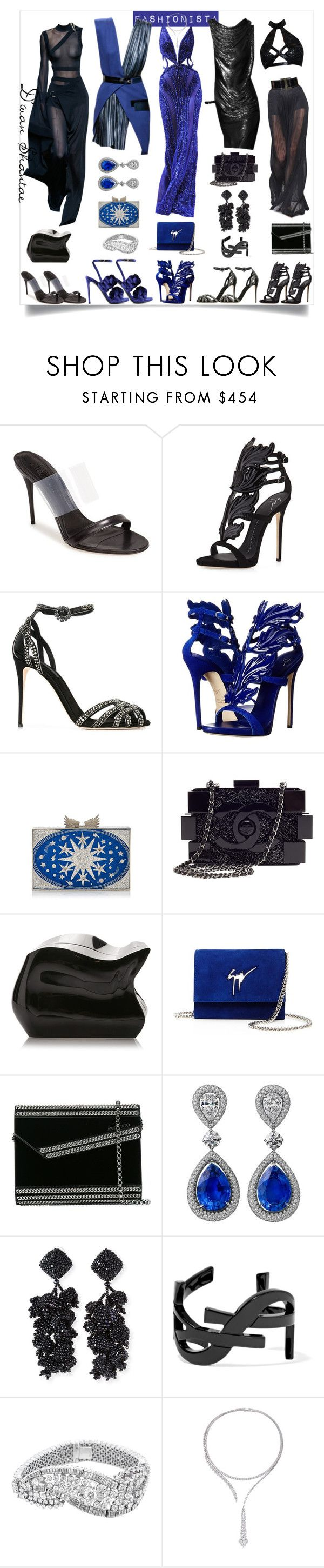 """""""Fashionista - She likes the finer things in life."""" by adswil ❤ liked on Polyvore featuring Alexander McQueen, Giuseppe Zanotti, Dolce&Gabbana, Rita von Hildebrand, Chanel, Jimmy Choo, NOIR Sachin + Babi, Yves Saint Laurent, Yeprem and Marco de Vincenzo"""