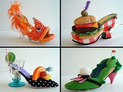 SOMETHING AMAZING: Amazing And Unusual Shoe Sculptures