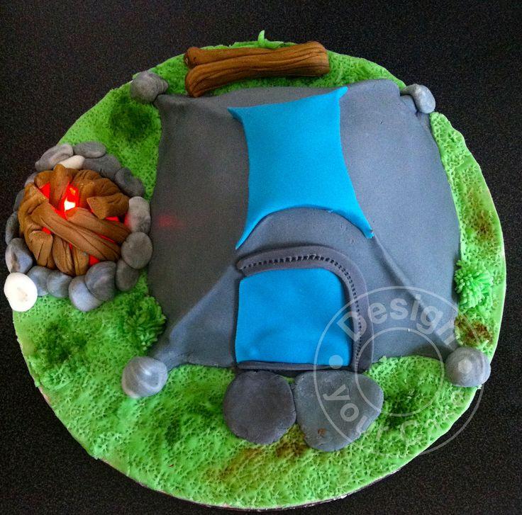 Camping cake..