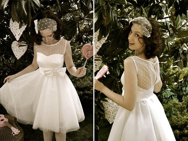 Abiti da sposa anni '50 e '60 all'atelier di Nadia Manzato