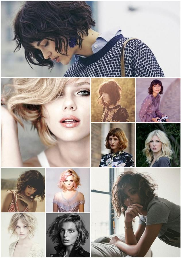 I love all of these so much... and mega want as soon as I get tired of my long hair heheh